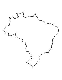 Brazil pattern. Use the printable outline for crafts, creating stencils, scrapbooking, and more. Free PDF template to download and print at http://patternuniverse.com/download/brazil-pattern/