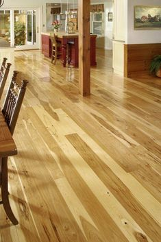 Magnificent wide plank bamboo floor - have a look at our write-up for way more choices! #wideplankbamboofloor Cheap Wood Flooring, Bamboo Wood Flooring, Refinish Wood Floors, Types Of Wood Flooring, Diy Wood Floors, Rustic Wood Floors, Wide Plank Flooring, Flooring Options, Hardwood Floors