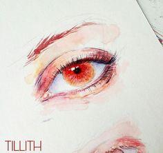 """Gefällt 540 Mal, 2 Kommentare -  Isabella ✎ (@tillith_) auf Instagram: """"Eye Practice~"""""""