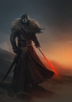 Medieval Kylo Ren – fan art by Alex Charleux Fantasy Armor, Medieval Fantasy, Dark Fantasy, Star Wars Sith, Star Wars Rpg, Dnd Characters, Fantasy Characters, Trajes Star Wars, Dragon Age