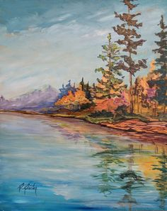 """Colours of Reflection 16""""x20"""" by RachaelRector"""