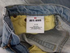 Authentic Joe's Light Wash Flare Denim Jeans Size 26 Distressed/Destroyed #JoesJeans #Flare