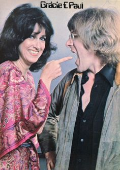 Grace Slick and Paul Kantner of Jefferson Airplane and Jefferson Starship