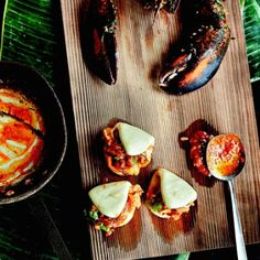 Bao-ed Lobster in Warm Chile Butter