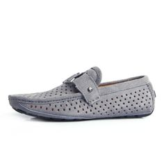 Louis Vuitton Grey Loafer