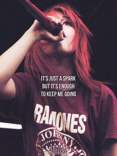 1000+ images about :)PARAMORE(: on Pinterest | Hayley ... Paramore Last Hope