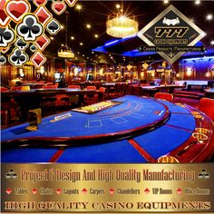 Turnkey Casino Projects..www.777merlin.com  High Quality Casino Equipments