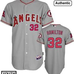 Youth Josh Hamilton Jersey for Los Angeles Angels of Anaheim!Welcome Hamilton  to join Angels 1e1bd8c28