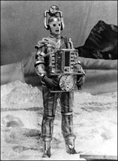 Cyberman from Classic Doctor Who (The Tenth Planet, 1966)