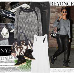 84.Celebrity Style Beyonce'