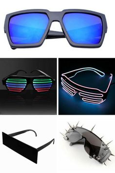 Delicious 2018 Light Up Fashion Sound Activated Switch El Glasses,sunglasses For Party Show El Wire Glasses El Sunglasses For Man High Quality Materials Women's Sunglasses Back To Search Resultsapparel Accessories