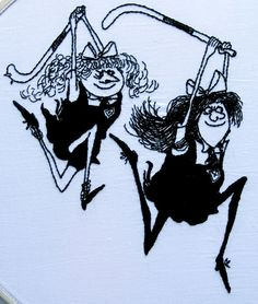 St. Trinian's. Field hockey warriors, based on the St. Trinian's comics by Ronald Searle. Meredith Cait