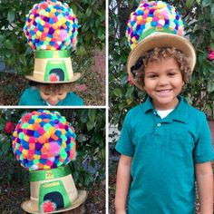 100th day of school gumball machine hat