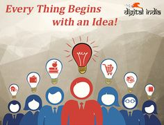 Every successful business today was once just an idea...  #digitalindia #digitalmarketing #digital #startup #business #ideas #idea