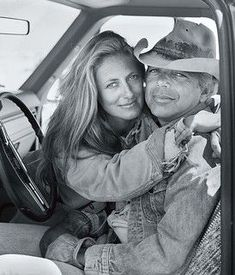 Ricky and Ralph Lauren posed for this portrait from inside a pickup truck on the Double RL Ranch Sarah Jessica Parker, Dorothy Parker, Dolce & Gabbana, Ralph Lauren Style, Polo Ralph Lauren, Ralph Lauren Womens Clothing, Rick Y, Style Icons, Work Wear