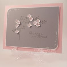 Itty Bitty Flowers by inkpad - Cards and Paper Crafts at Splitcoaststampers