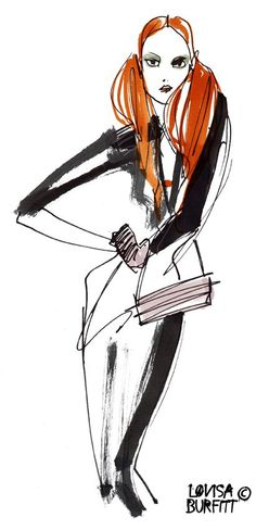 Swedish fashion illustration • Swedish fashion blog — blogs.sweden.se