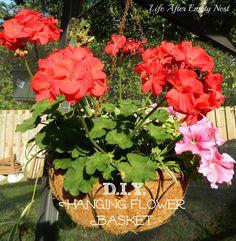 D.I.Y. Hanging Flower Baskets
