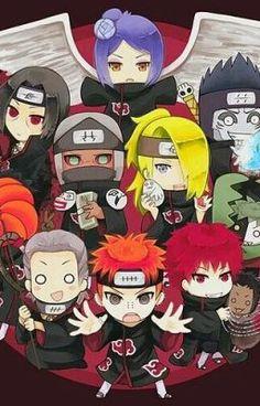 Akatsuki Chibi Mouse Pad, Mousepad x x inches) Naruto Kakashi, Anime Naruto, Hinata, Anime Akatsuki, Naruto Cute, Anime Chibi, Anime Kawaii, Naruto Images, Naruto Pictures