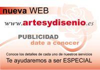 Diseño grafico www.artesydisenio.es - Akyanuncios.es - Publicidad con anuncios gratis en España