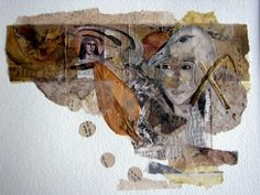 Letting in the Light:   collage by Kim Henkel