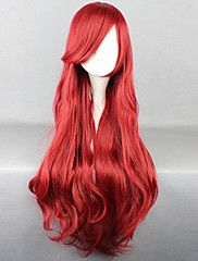 The New Wig Anime Characters Big red curly Hai... – CAD $ 32.30
