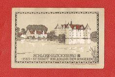Germany Notgeld 1 mark 1920 Schleswig Holstein Glucksburg Glücksburg #63