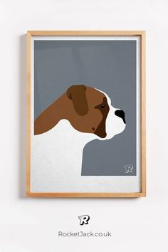 From our range of modern design dog prints, this English Bulldog is one of our favourites. Available in a variety of colours and sizes to fit many home decor styles especially a minimalist or scandi flavour.