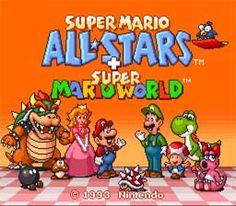 Super Mario All Stars Plus Super Mario World     1993 By: Nintendo