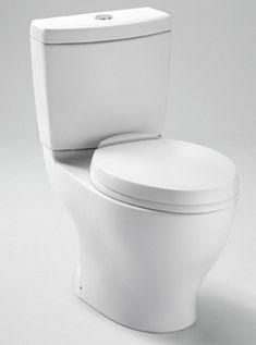 Toto CST416M-01 Aquia Residential Close Coupled Toilet - Cotton White - Faucet Depot