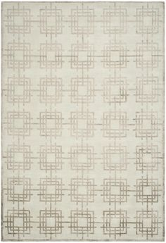 Rug TOB825E - Safavieh - Area Rugs - Runner Rugs - Wool-and-silk Rugs - Contemporary Rugs | Blue