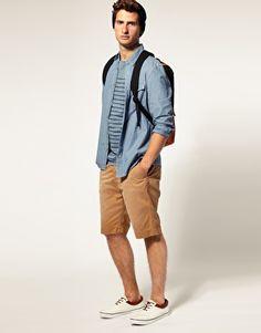 Shirt and shorts look great