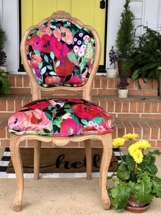 Custom Dining Chairs - Shop All Chairs on Chair Whimsy Dinning Chairs, Old Chairs, Dining Room, Pink Chairs, Diy Chair, Chair Fabric, Interior Design Boards, French Chairs, Pink Design