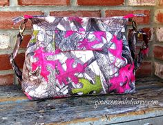 Concealed Carry Purses True Timber Camo by GCCginascraftcorner