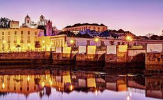 Tavira Reflections - Portugal Print by Barry O Carroll Algarve, Fine Art America, Reflection, Portugal, Building, Photography, Travel, Fotografie, Photograph