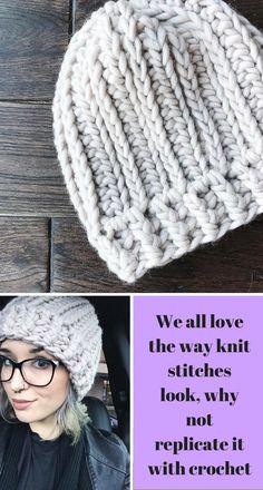"""This PDF pattern is written for those with basic crochet knowledge. This is considered an """"easy"""" pattern, not beginner. It is a great way to expand your crochet abilities once you master the basics #ad #crochet #crafts #beanie #knit #stitches"""