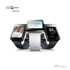 *Genuine* LG G Watch W100 / Google Watch Powered by Android Wear Black