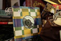 Vintage vinyl at Emmaus Mossley