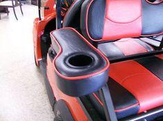 Golf Cart Seat Covers, Golf Cart Seats, Rear Seat, Golf Clubs, Yamaha, Arm, Ebay, Black, Arms