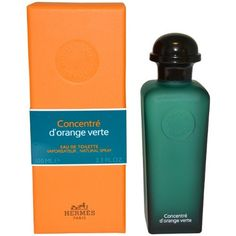 D'orange Verte Concentre for Men By Hermes Eau-de-toilette Spray, 3.3-Ounce by Hermes. $64.65. 3.3 oz. This item is not for sale in Catalina Island. eau de toilette spray. This item is not a Tester.. Eau D Orange Verte is a stimulating, energetic and extremely refreshing fragrance. Eau dOrange Verte by Hermes is a celebration of citruses and exotic fruits blended with mint and woods.. Save 32% Off!