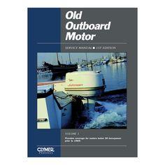 Clymer Old Outboard Motor Service Manual Vol. 1 (Prior to 1969) - https://www.boatpartsforless.com/shop/clymer-old-outboard-motor-service-manual-vol-1-prior-to-1969/