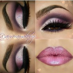 Valentine's day makeup idea