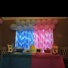 Ideas baby reveal backdrop streamers for 2019 Gender Reveal Party Decorations, Baby Gender Reveal Party, Gender Party, Baby Party, Baby Shower Parties, Baby Shower Gifts, Baby Showers, Baby Time, Reveal Parties