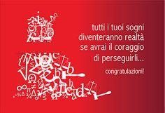 Congratulazioni - Laurea