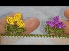 556.TIĞ OYASI İKİ OYANIN BİRLEŞİMİ BİR OYA - YouTube Baby Knitting Patterns, Crochet Earrings, Jewelry, Youtube, Flowers, Jewlery, Jewerly, Schmuck, Jewels