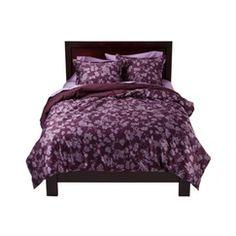 Target Home™ Silhouette Floral Duvet Set - Purple; 79.99