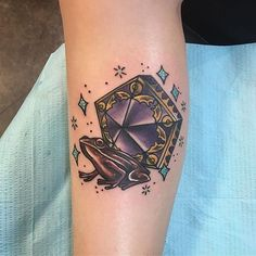 Pin for Later: Harry Potter Tattoos That Would Make J.K. Rowling Proud Chocolate Frog