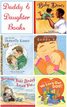 A collection of books for a father and daughter to read together #reading #dadsread #books