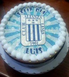 Torta de Cumpleaños Alianza Lima