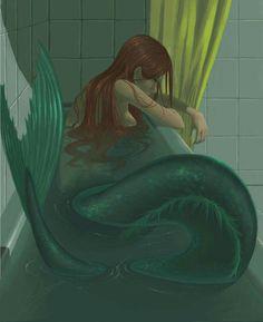 new Ideas for drawing mermaid sirens ariel Anime Mermaid, Siren Mermaid, Mermaid Art, Vintage Mermaid, Tattoo Mermaid, Fantasy Mermaids, Mermaids And Mermen, Mermaid Drawings, Art Drawings